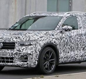 Cверхмощную версию Volkswagen T-Roc показали на видео