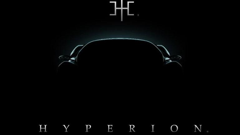 В Нью-Йорке дебютирует таинственный суперкар от Hyperion Motors