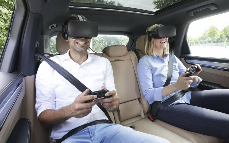 Виртуальная реальность все-таки проникла в автомобили