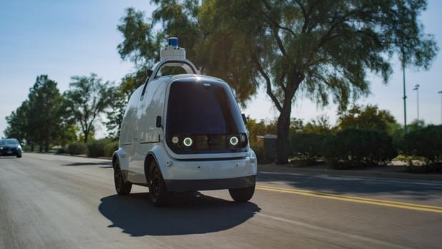 В США разрешили доставлять еду с помощью беспилотных автомобилей