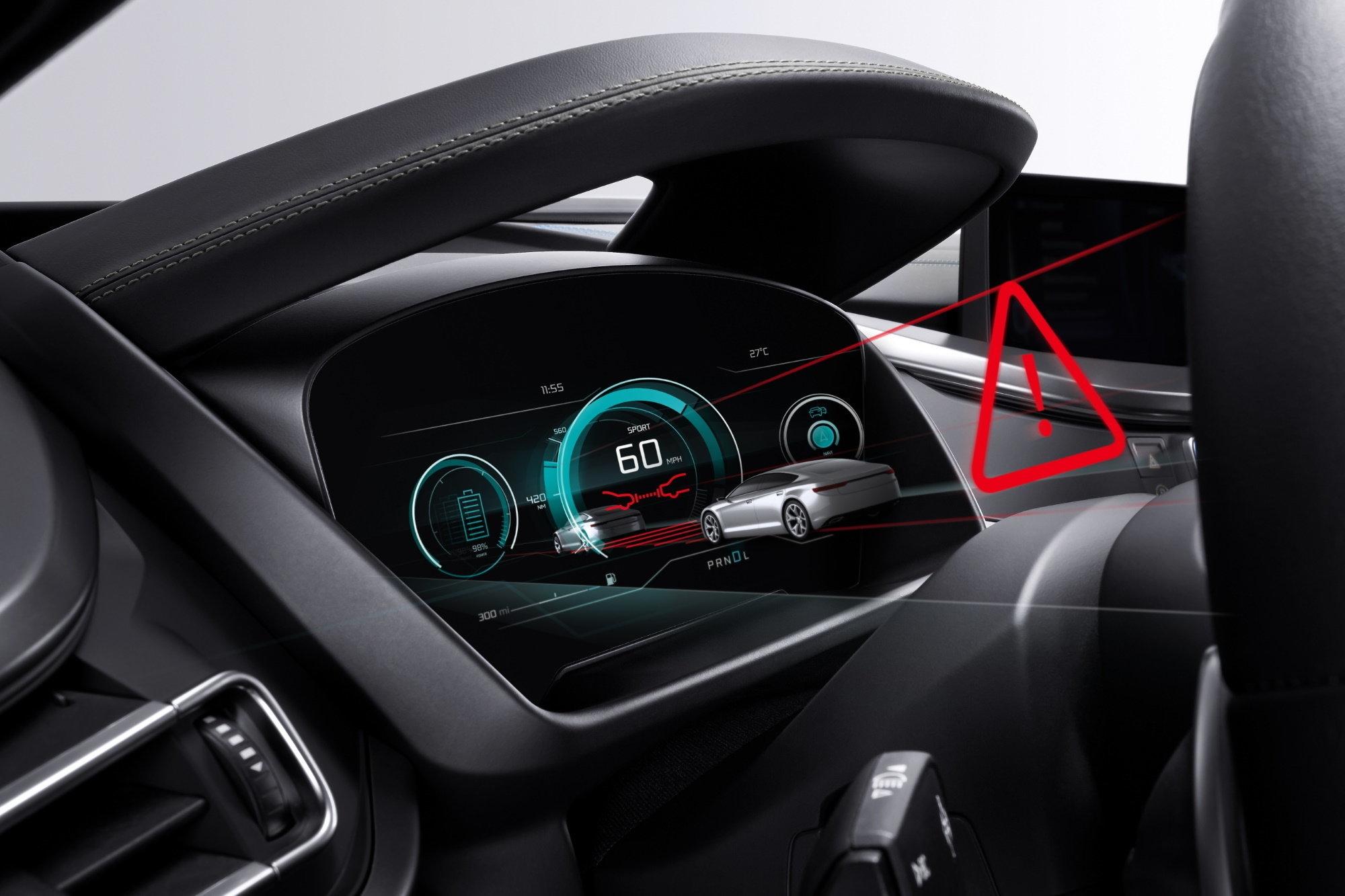 В новых автомобилях будут совсем другие панели приборов