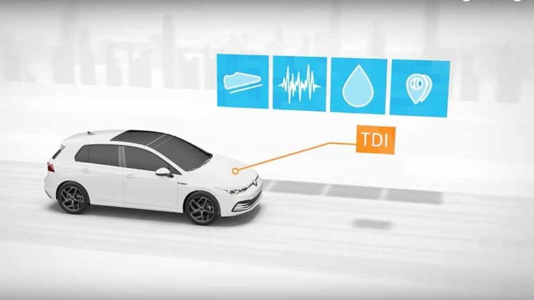 Volkswagen объяснил принцип работы своего чистого дизельного двигателя