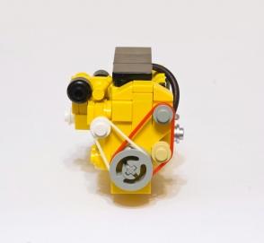 Как сделать мотор из лего