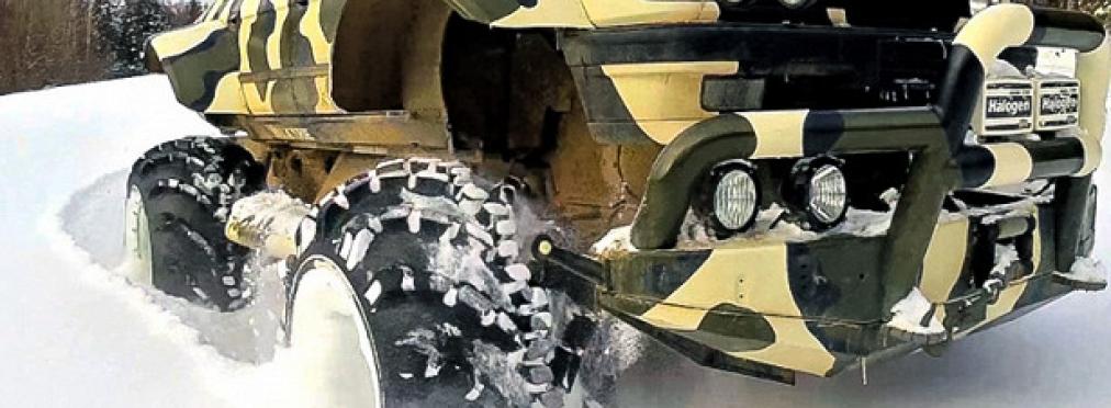 Умелец превратил старый BMW в чудо-вездеход — в разделе «Звук и тюнинг» на сайте AvtoBlog.ua