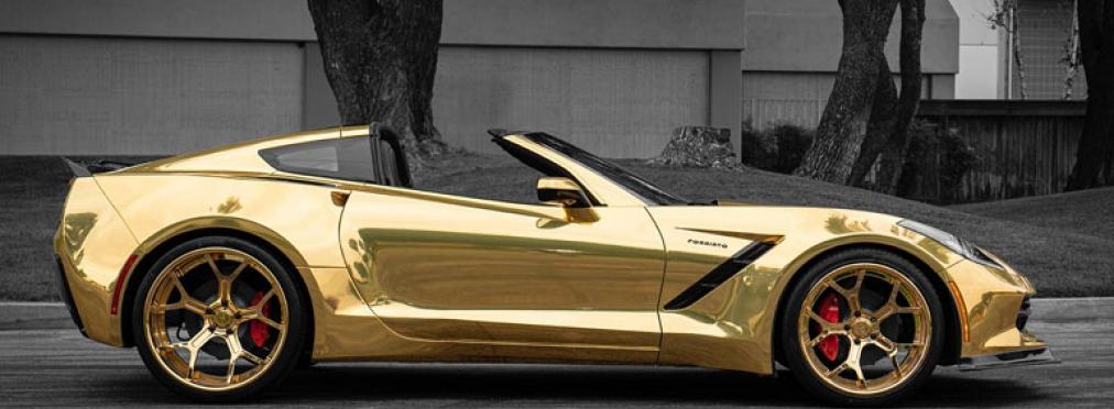 Тюнеры показали золотой Corvette C7 — в разделе «Звук и тюнинг» на сайте AvtoBlog.ua