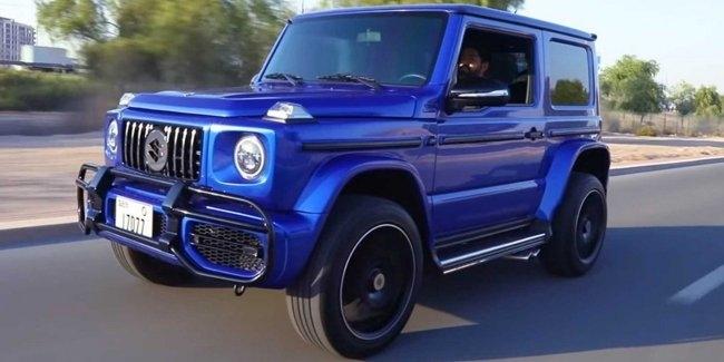Из Suzuki Jimny сделали точную копию Гелендвагена — в разделе «Звук и тюнинг» на сайте AvtoBlog.ua