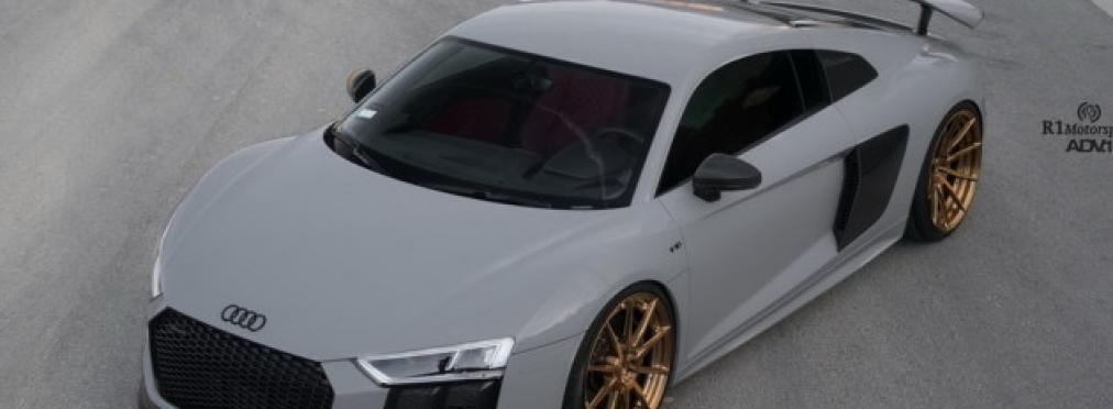 Audi R8 Plus получил новый стиль — в разделе «Звук и тюнинг» на сайте AvtoBlog.ua