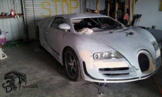 Как из старого VW Passat сделать Bugatti Veyron — в разделе «Звук и тюнинг» на сайте AvtoBlog.ua
