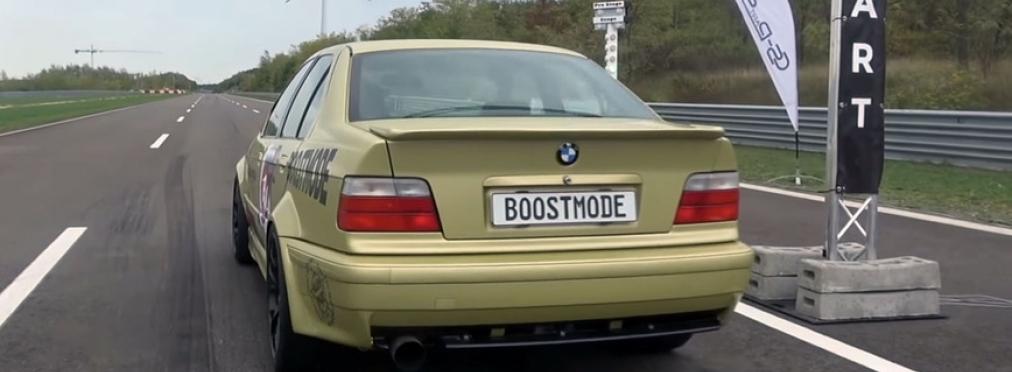 Как едет 900-сильный BMW 3-Series E36 — в разделе «Звук и тюнинг» на сайте AvtoBlog.ua