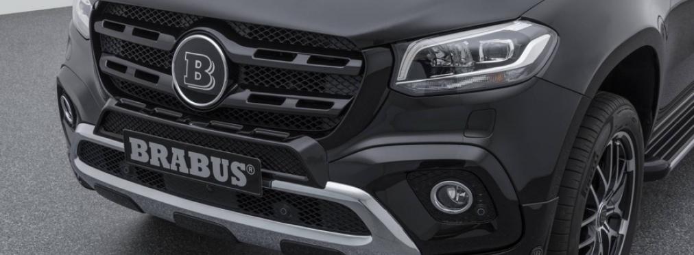 Brabus взялся за доработку пикапа Mercedes-Benz X-Class — в разделе «Звук и тюнинг» на сайте AvtoBlog.ua