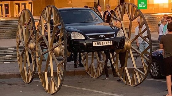 «Беспощадный тюнинг»: из Lada Priora сделали «карету» — в разделе «Звук и тюнинг» на сайте AvtoBlog.ua