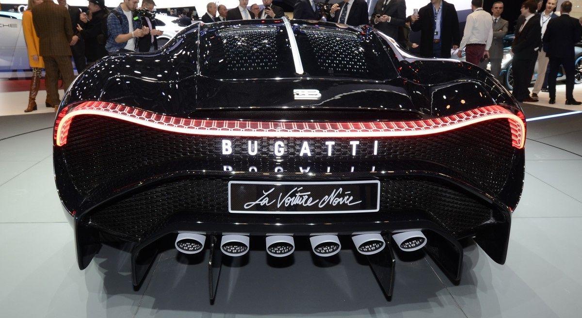 Новый Bugatti La Voiture Noire