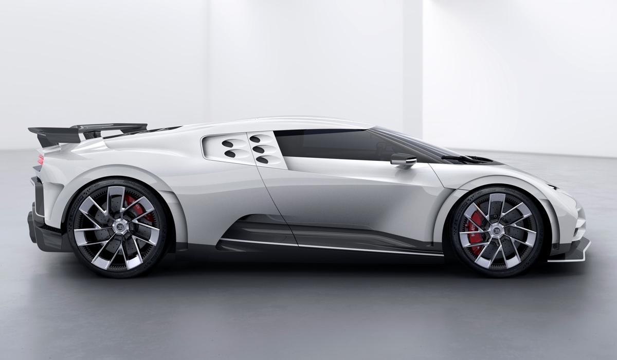 Обзор Bugatti Centodieci - характеристики юбилейного гиперкара