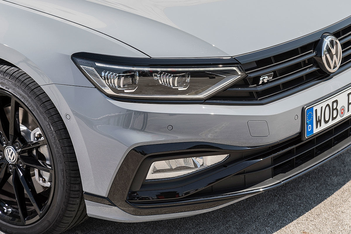Первый тест Volkswagen Passat R-Line